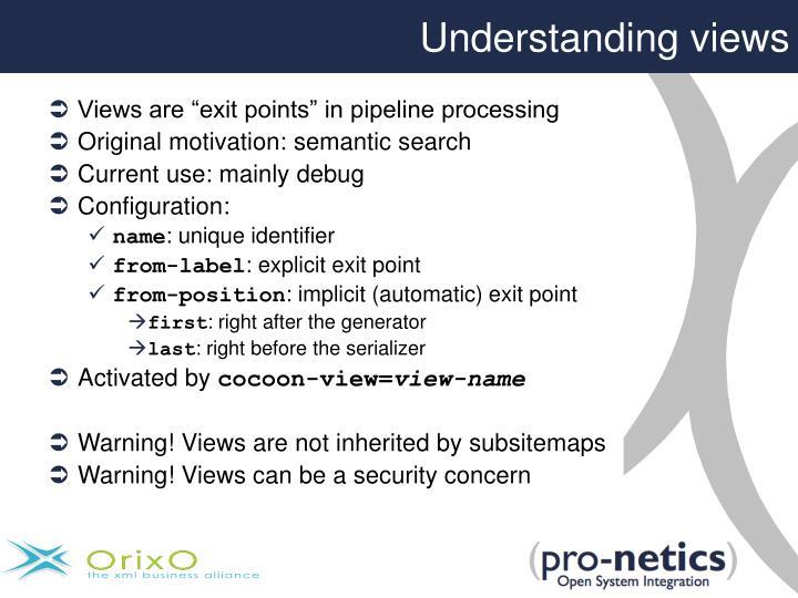 Understanding views