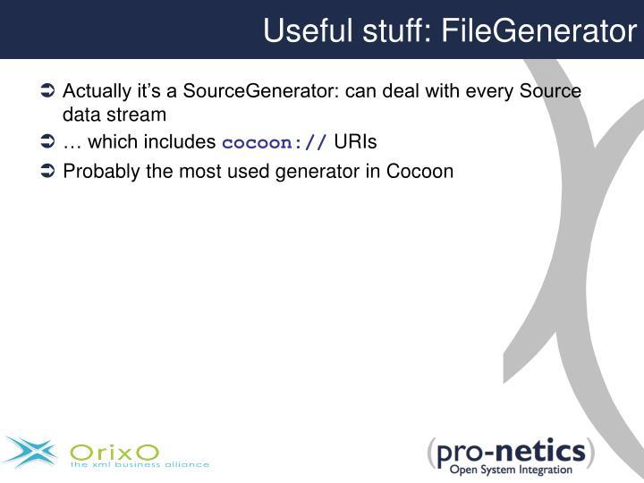 Useful stuff: FileGenerator
