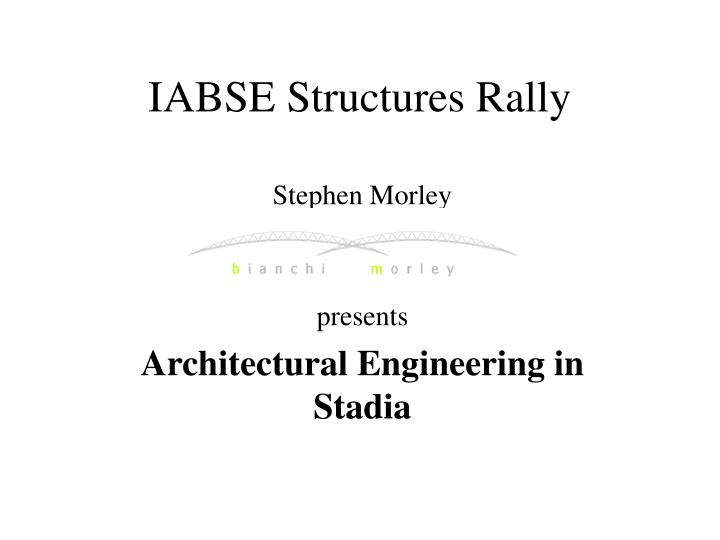 Iabse structures rally