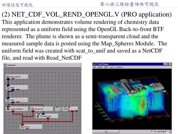 (2) NET_CDF_VOL_REND_OPENGL.V (PRO application)