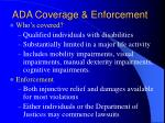 ada coverage enforcement
