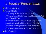 i survey of relevant laws1