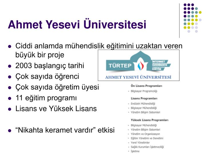 Ahmet Yesevi Üniversitesi