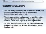 system state backups