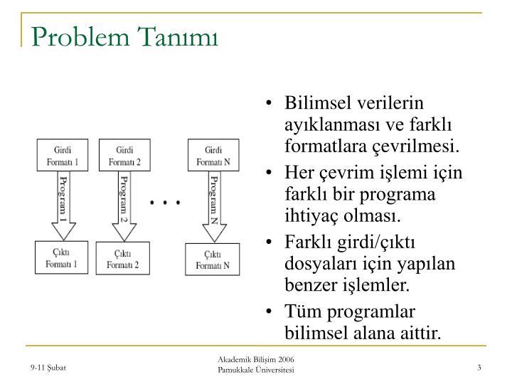 Problem tan m