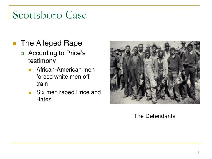 The Alleged Rape