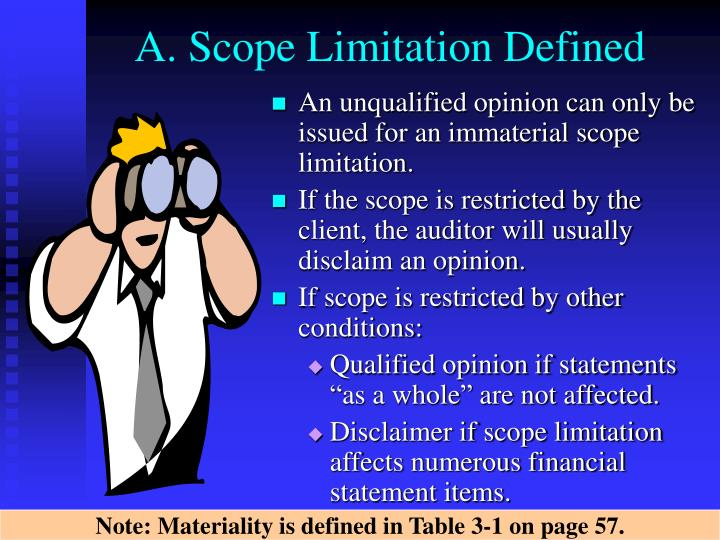 A. Scope Limitation Defined