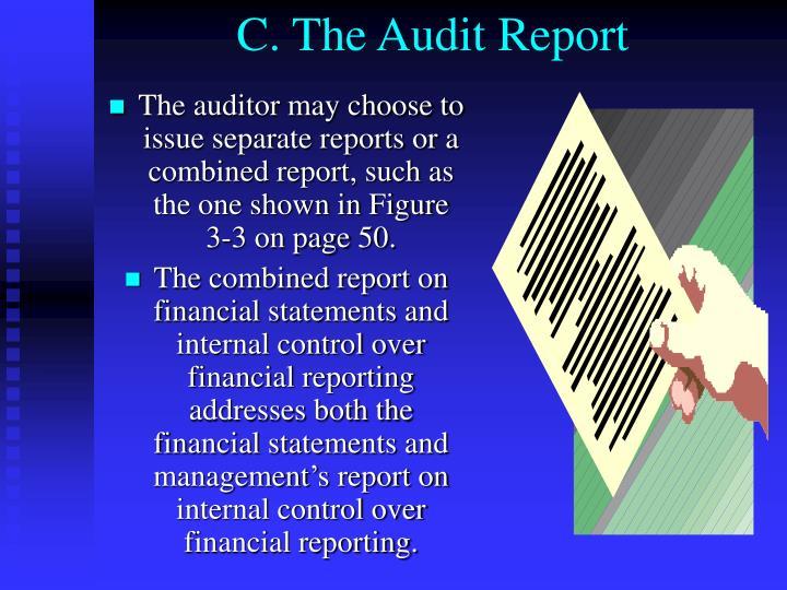 C. The Audit Report