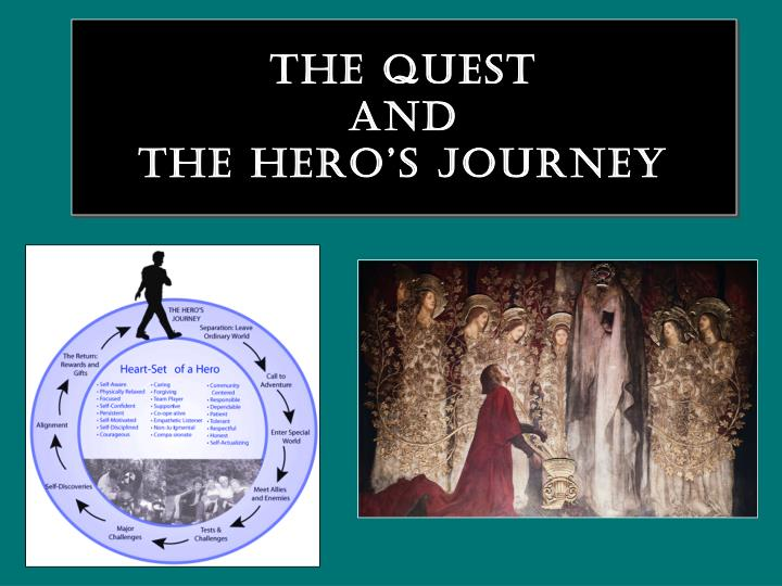 the quest and the hero s journey n.