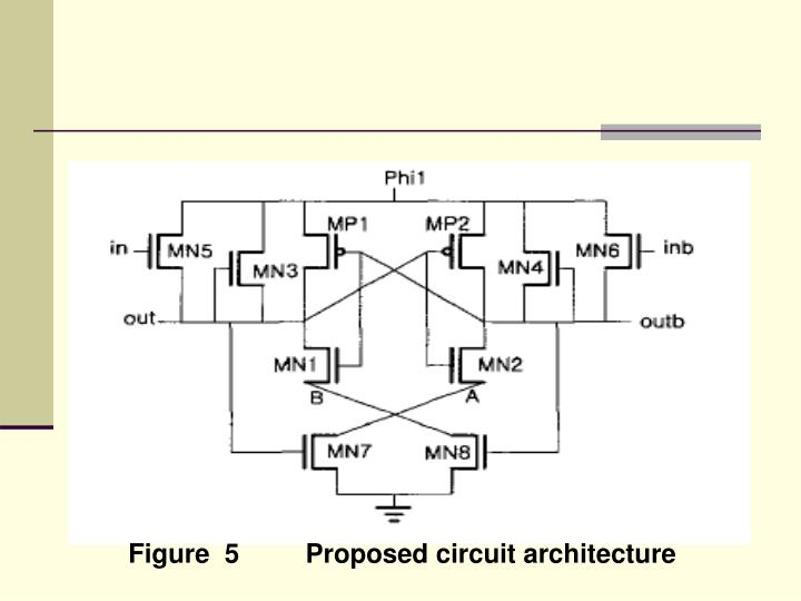 Figure  5         Proposed circuit architecture