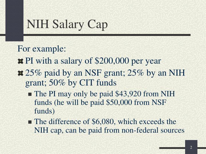 Nih salary cap1