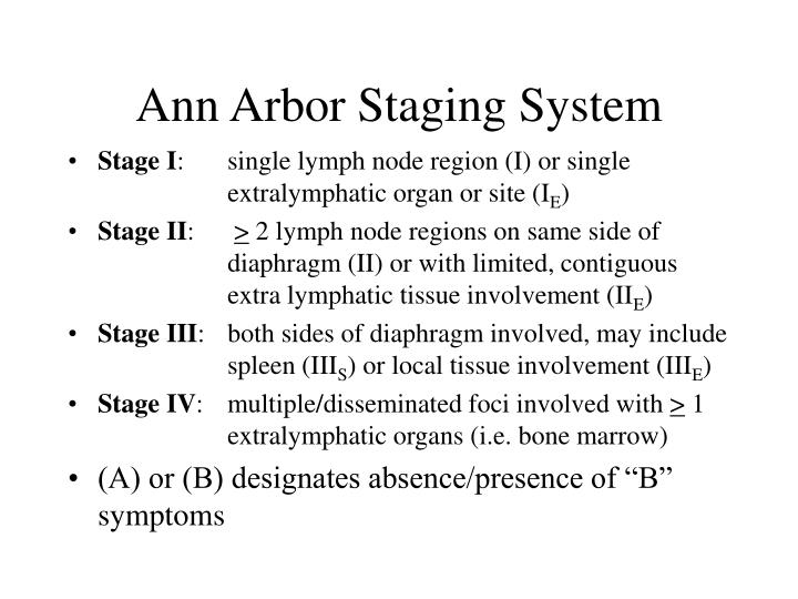 Ann Arbor Staging System
