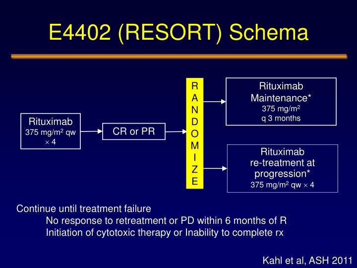 E4402 (RESORT) Schema