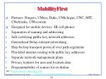 mobilityfirst