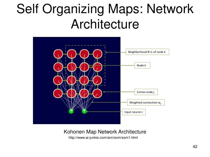 Self Organizing Maps: Network Architecture