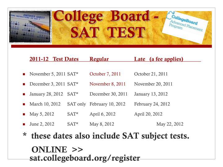 College  Board -