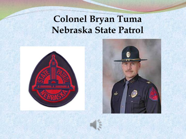 Colonel Bryan Tuma