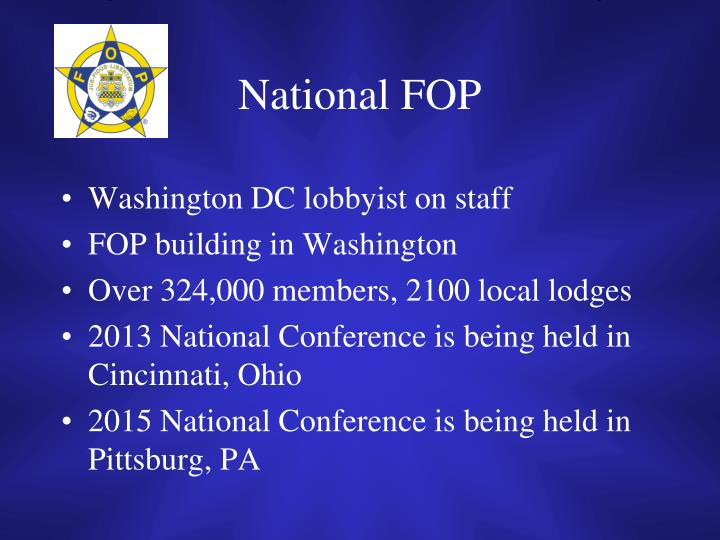National FOP