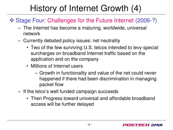 History of Internet Growth (4)