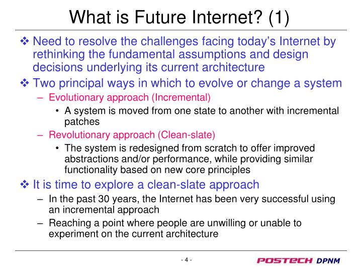 What is Future Internet? (1)