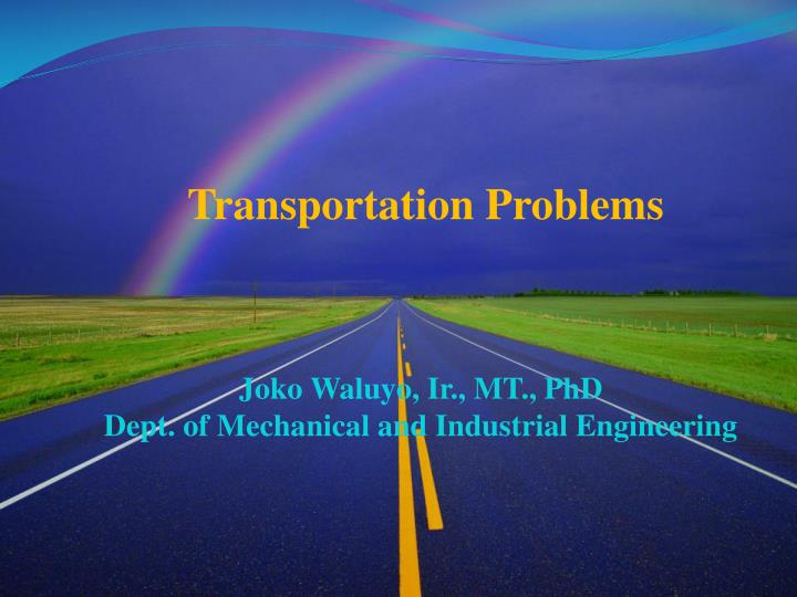 transportation problems In an effort to educate the transportation industry and others that provide service in accordance with the department's drug and alcohol testing news and events.