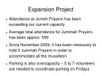 expansion project