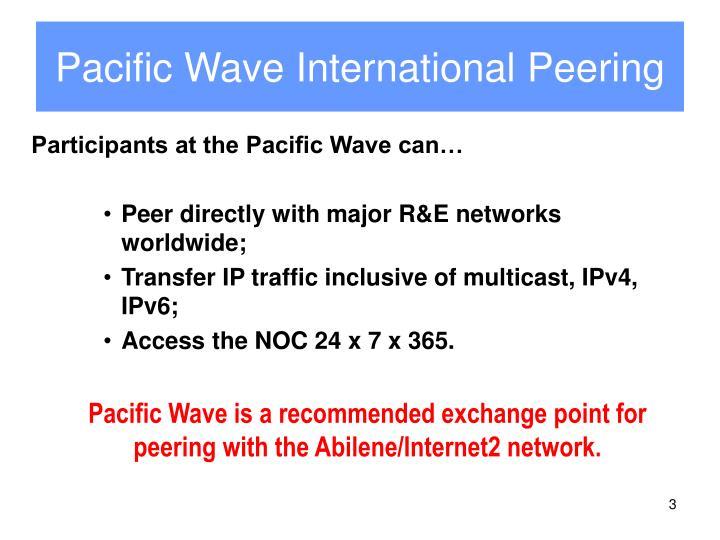 Pacific wave international peering1