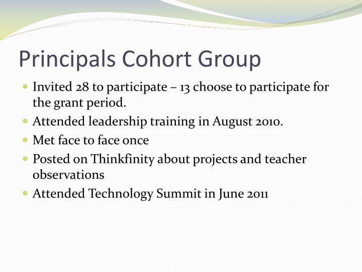 Principals Cohort Group