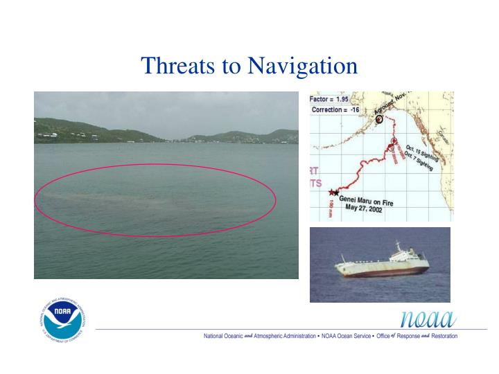 Threats to Navigation