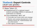 thailand export controls dual use goods2