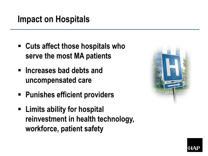 Impact on Hospitals