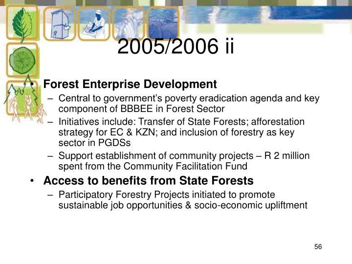 2005/2006 ii