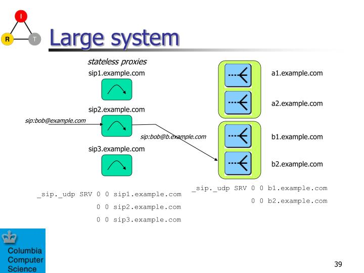 Large system