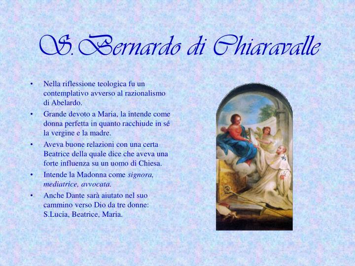 S.Bernardo di Chiaravalle