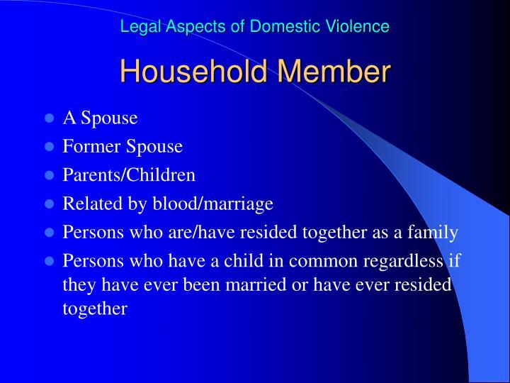 Household Member