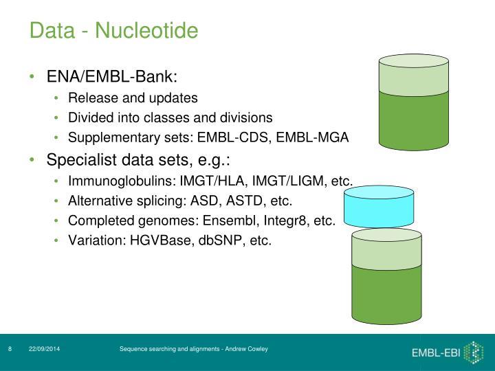 Data - Nucleotide
