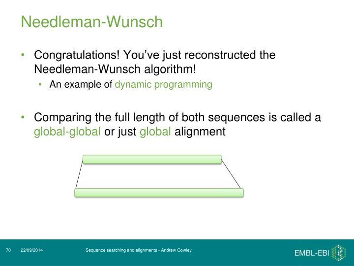 Needleman-Wunsch