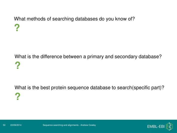 What is the difference between a primary and secondary database?