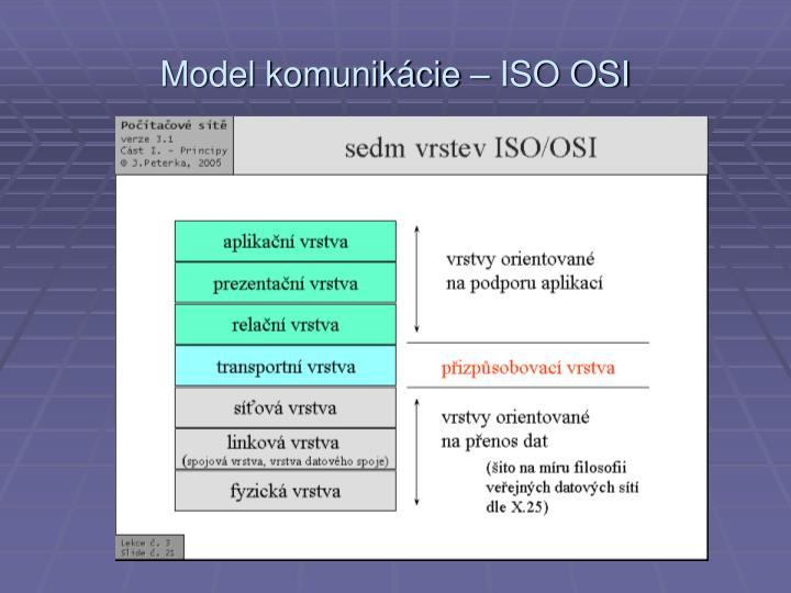 Model komunik cie iso osi1