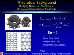 theoretical background bridging nano and continuum equivalent frame element method