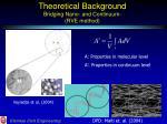 theoretical background bridging nano and continuum rve method