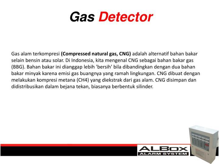 Gas alam terkompresi