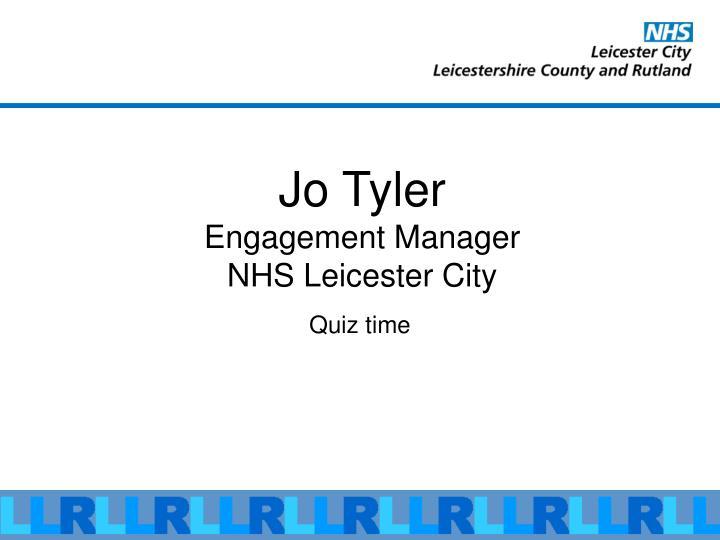 Jo Tyler