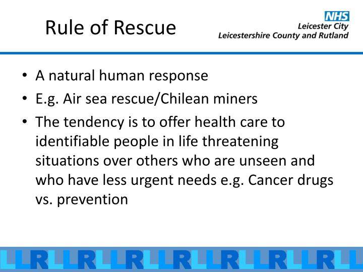 Rule of Rescue