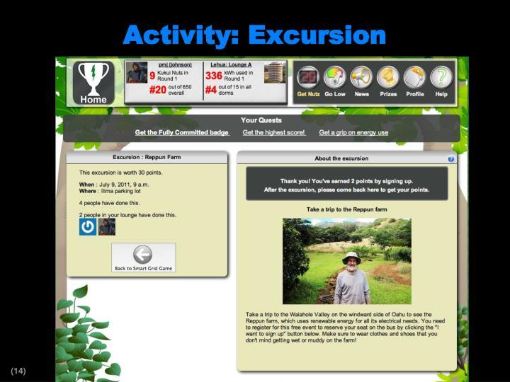 Activity: Excursion
