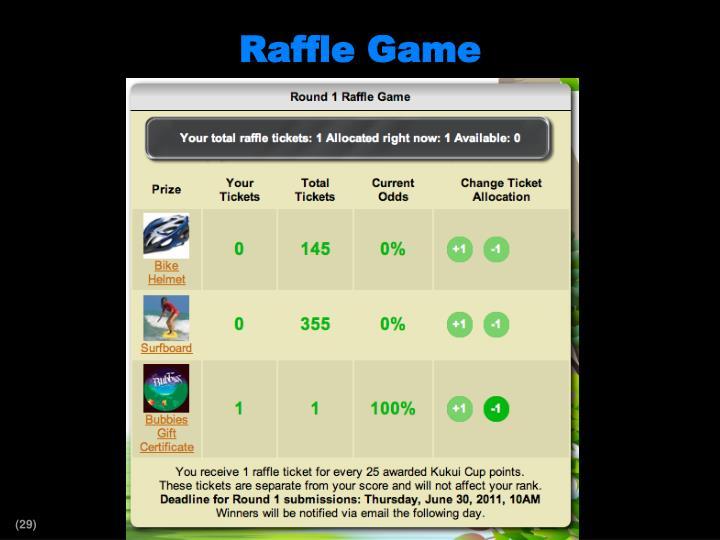 Raffle Game