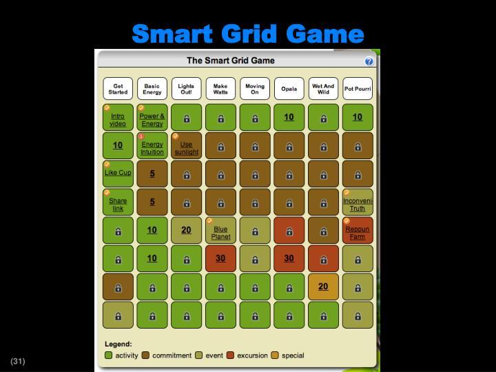 Smart Grid Game