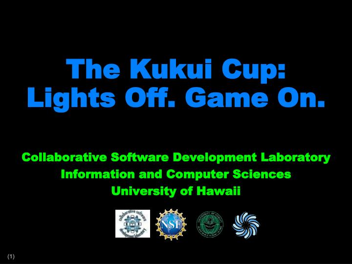 The kukui cup lights off game on