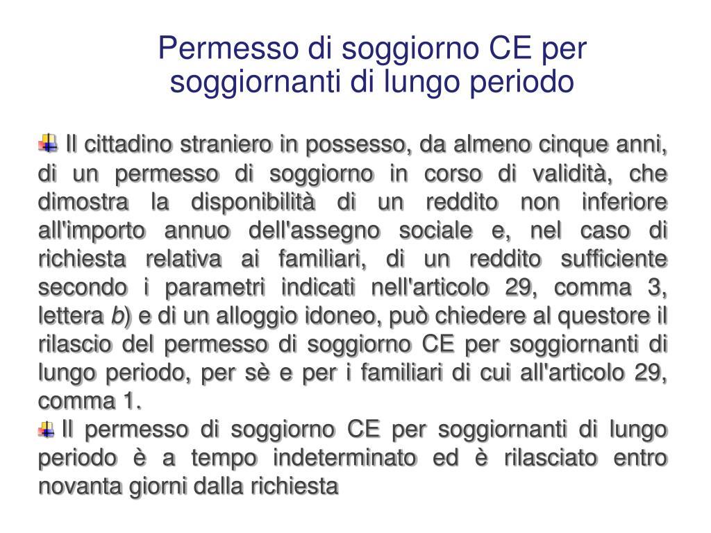 PPT - Regolarità del soggiorno e gestione anagrafica dei ...