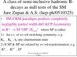 a class of semi inclusive hadronic b decays as null tests of the sm jure zupan a s hep ph 0510325